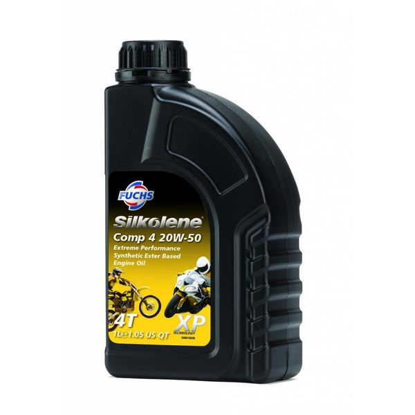 Fuchs Silkolene Comp 4 XP 20W-50 1L Ester basis Semi synthetische motorolie