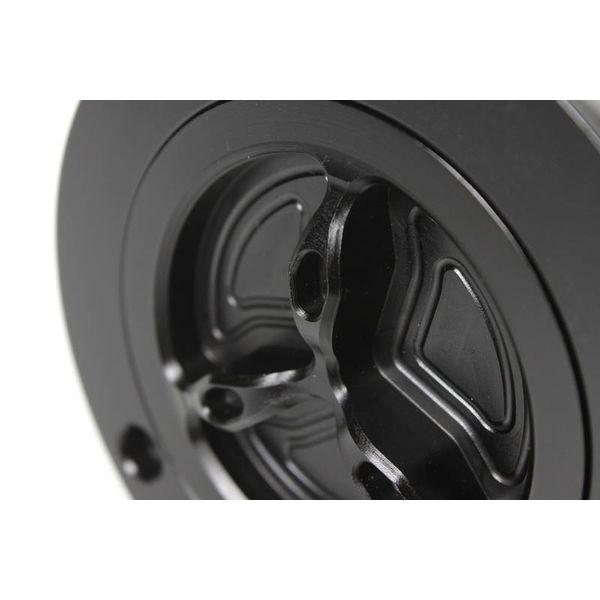PP Tuning Tankdop zwart geanodiseerd met snelsluiting