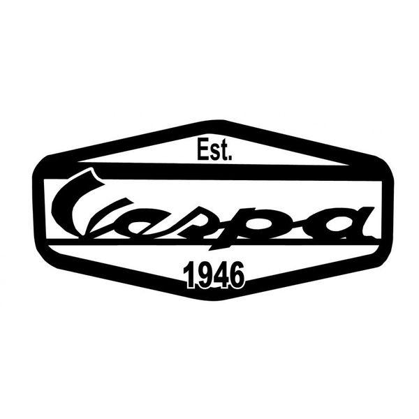Accessori Italy Vespa Logo Stickerset EST 1946 3 delig