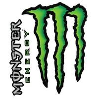 Monster Energy 2 Delig Stickerset