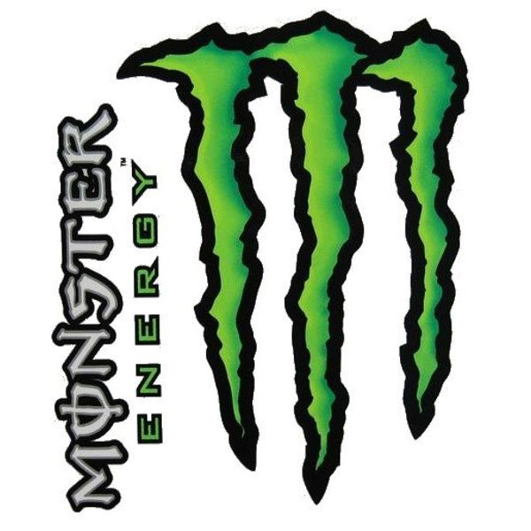 Monster Energy 2 Delig Stickerset