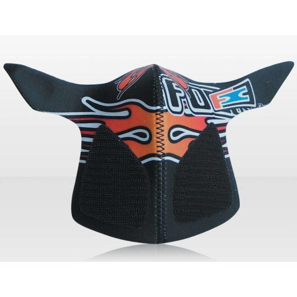 Respro Antifog Masker Flame Oranje voor Motorcrosshelmen