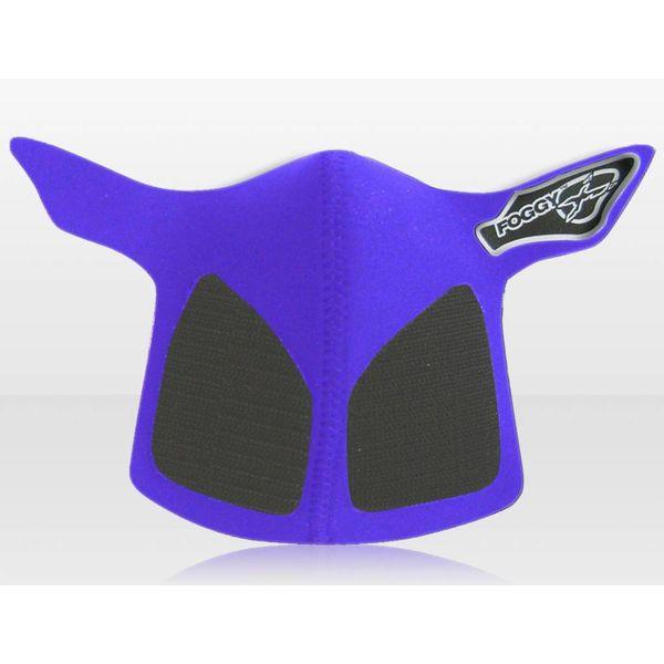 Respro Antifog Crosshelm Masker Blauw voor Motorcrosshelmen