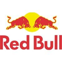 Red Bull Formule 1 10cm x 6cm rood geel