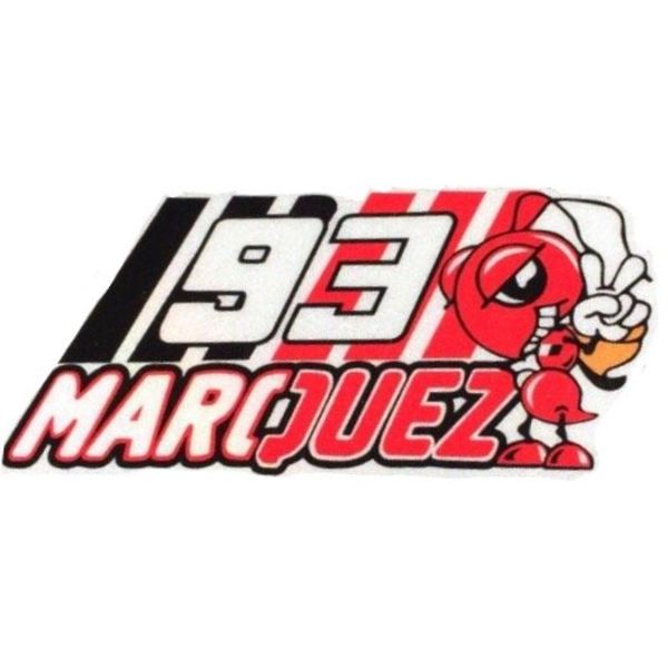 Marc Marquez logo vierkant nummer 93 sticker