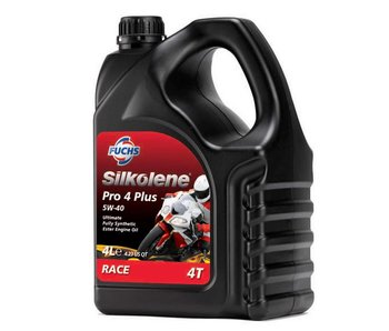 Fuchs Silkolene Pro 4 Plus 5W-40 Vol Synthetisch Racing