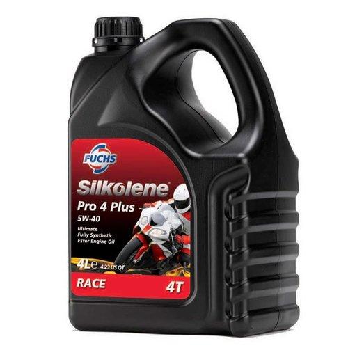 Fuchs Silkolene Pro 4 Plus 5W-40 Vol Synthetisch Motorolie
