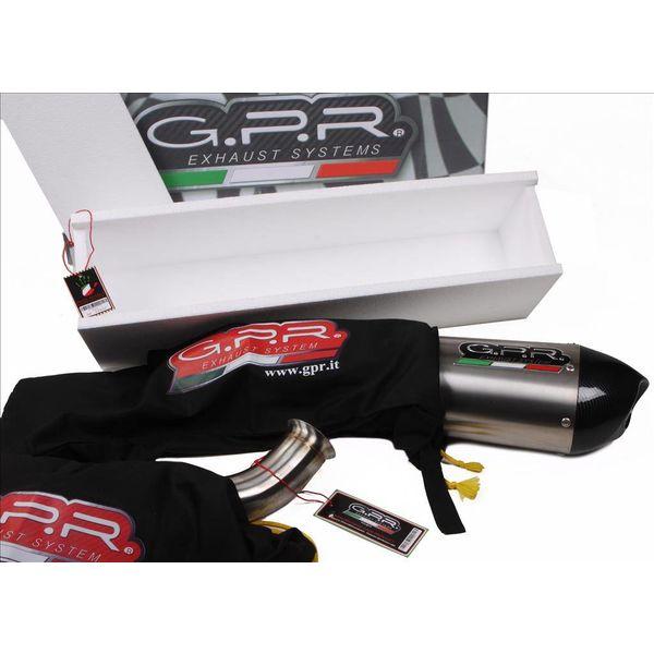 GPR Uitlaten Uitlaat Race Deeptone Black Inox KTM RC 390