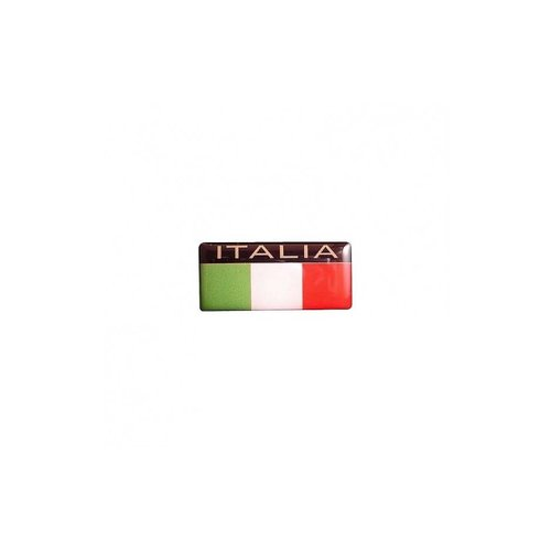 Accessori Italy tricolore Doming Italia 40x18mm