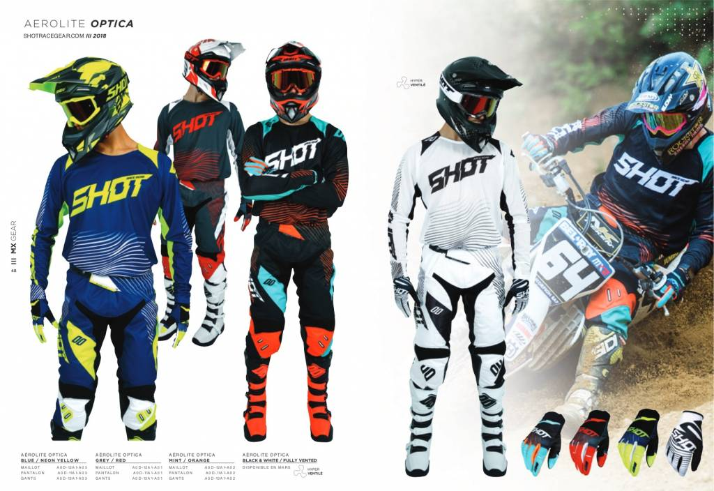 Shot Race Gear Collectie 2018