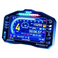 Starlane Davinci R Dashboard met ingebouwde professionele data acquisitie en Power Shift NRG quick shifter