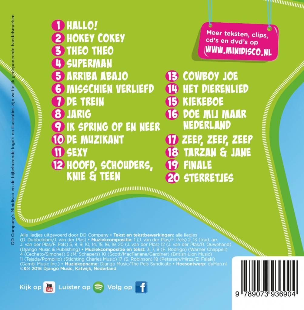Minidisco Dutch songs CD #1