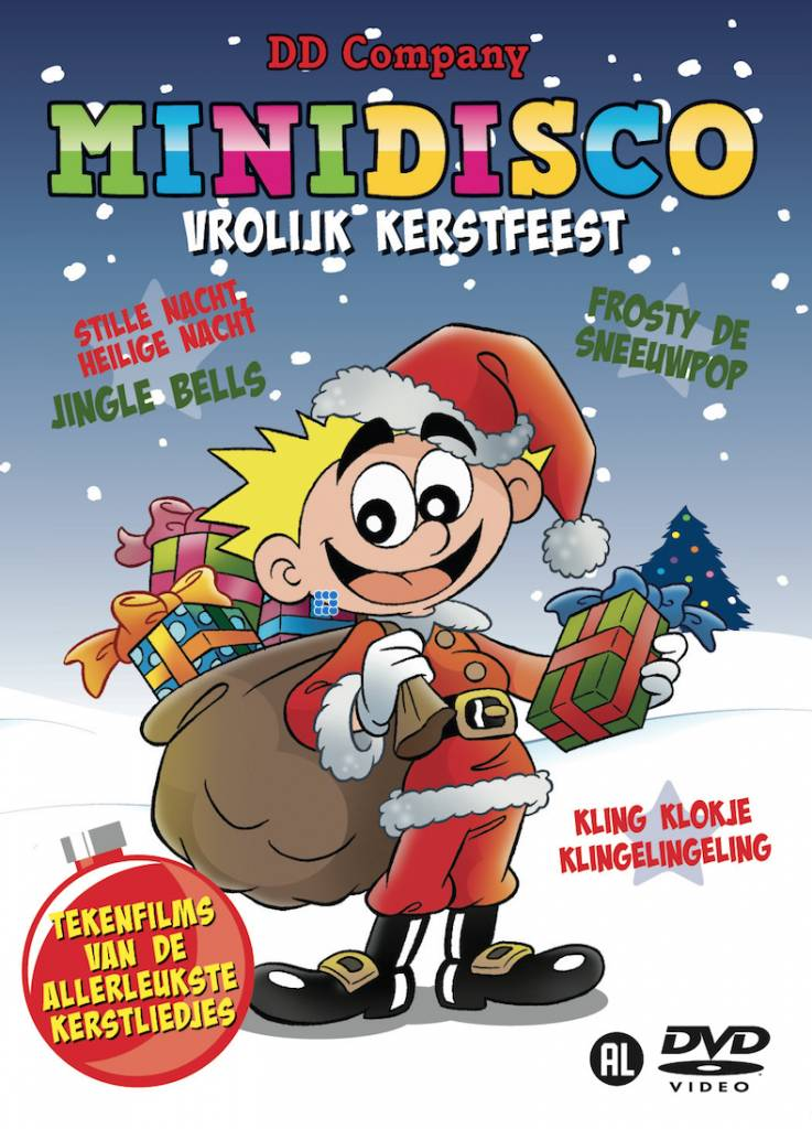 Minidisco Vrolijk Kerstfeest Dutch DVD