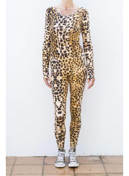 Body Round Neck - Leopard