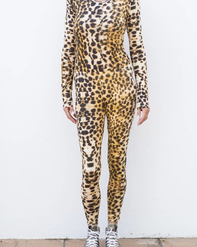 Body Round Neck - Leopard