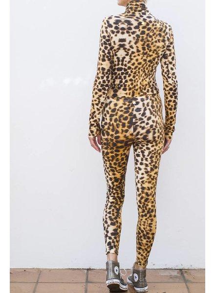 Body Polo Neck - Leopard