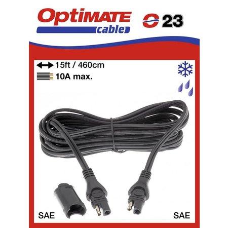 Tecmate Optimate verlengkabel O3 460cm - SAE 10A max