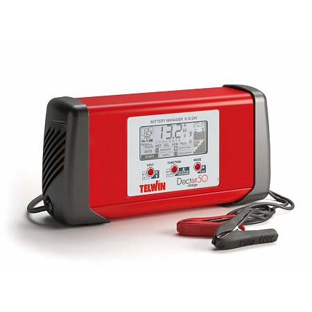 Telwin Doctor Charge 50: een professionele, multifunctionele acculader