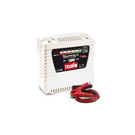 Telwin Acculader Touring 11 Tronic 230V 6V / 12V laden en onderhouden