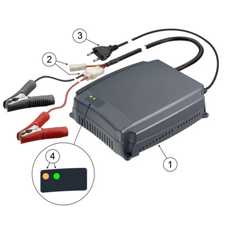 Cellpower Acculader 12V 10A Gel