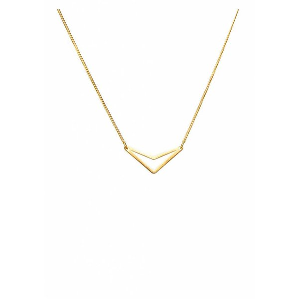 Triangle Necklace 'TUI' - Gold Plated