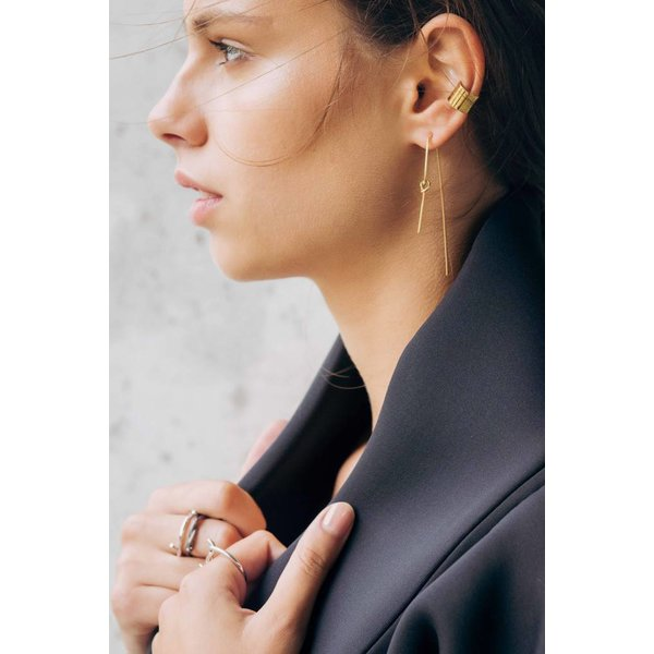 Knot Earring - Gold Plated