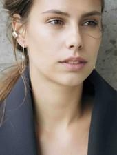 Dutch Basics Knot Earring - Silver