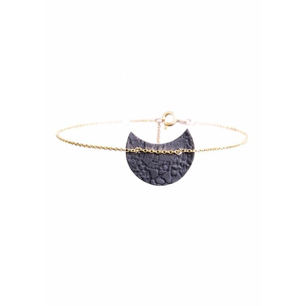 Porcelain Half Moon Bracelet