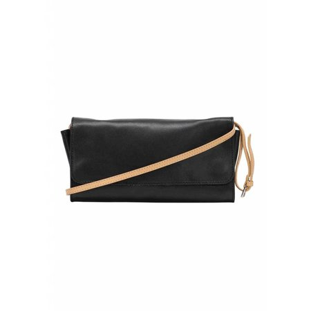 Dutch Basics Crossbody Shoulder Bag - Black