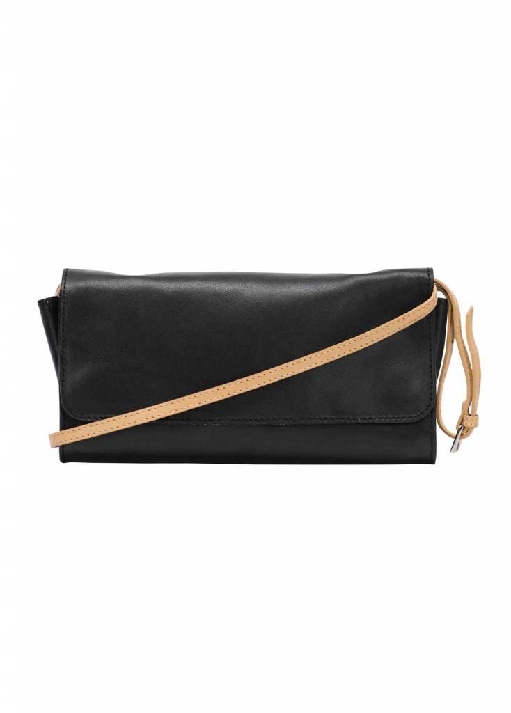 Dutch Basics Crossbody Shoulder Bag - Black