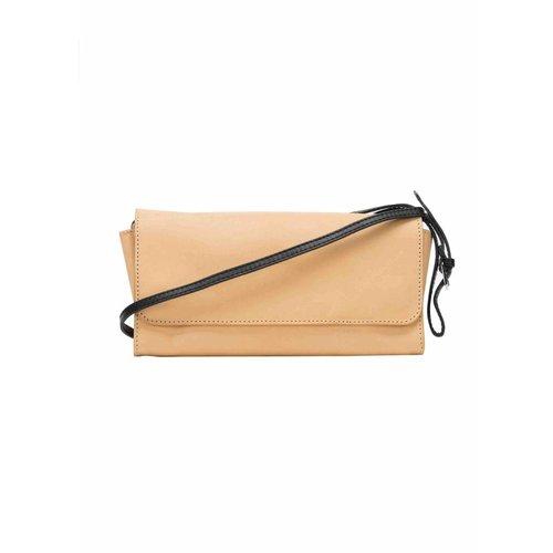 Dutch Basics Crossbody Shoulder Bag - Camel