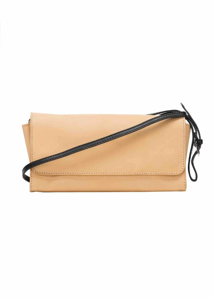 Dutch Basics Crossbody Shoulder Bag - Camel