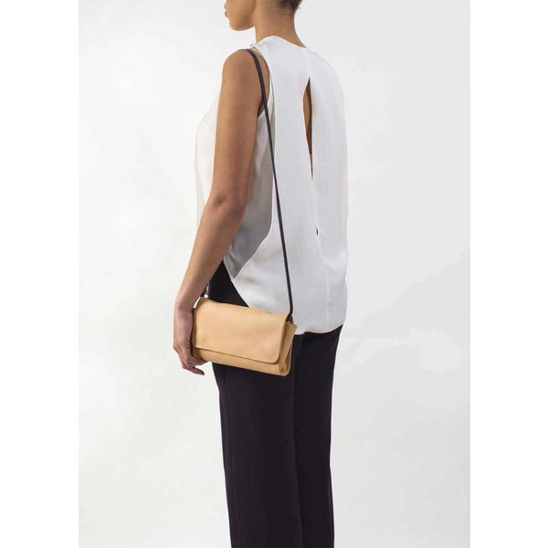 Crossbody Shoulder Bag - Camel