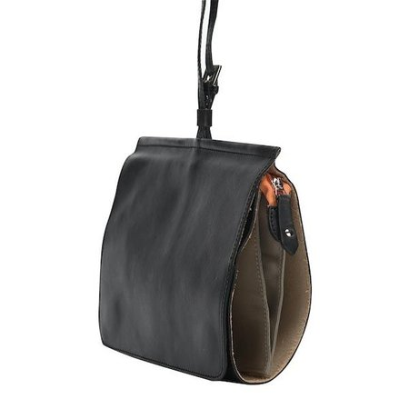 Dutch Basics Messenger Shoulder Bag - Black