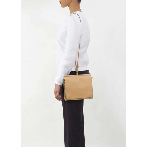 Messenger Shoulder Bag - Camel