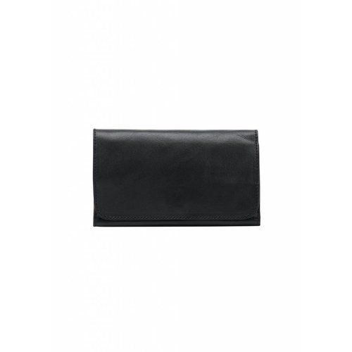 Dutch Basics Minimal Leather Wallet - Black