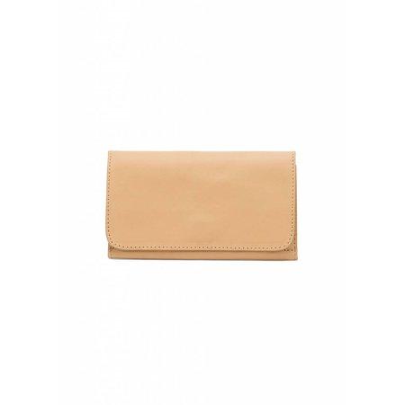 Dutch Basics Minimal Leather Wallet - Camel