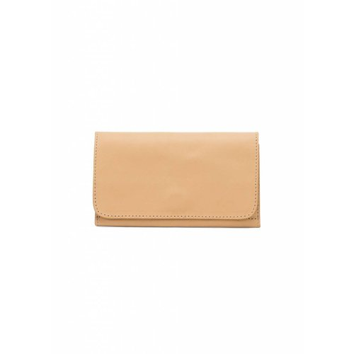Dutch Basics Minimal Leather Wallet - Camel