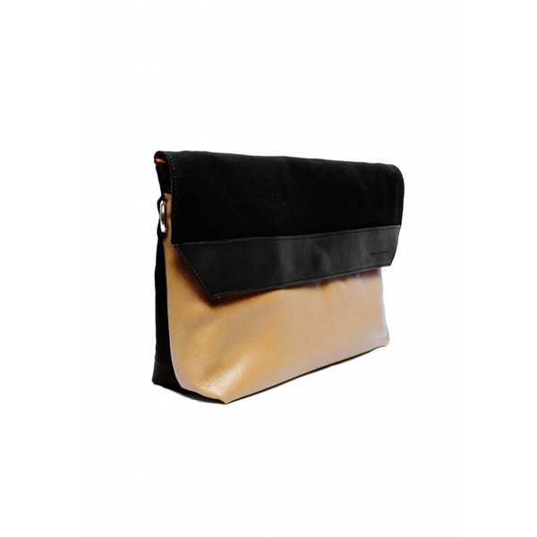 Envelope A4 Clutch - Nude