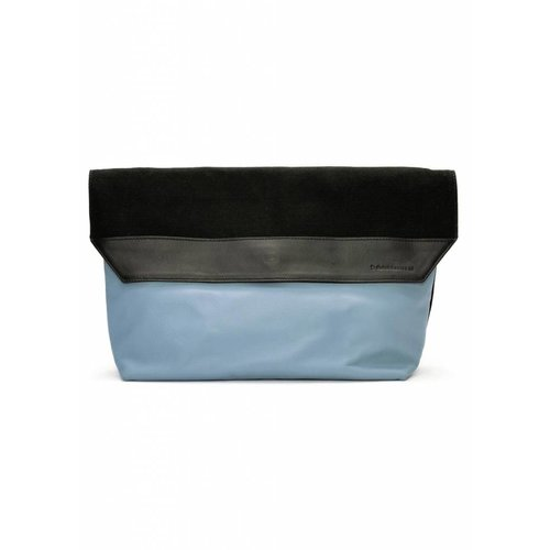 Dutch Basics Envelope A4 Clutch - Blue