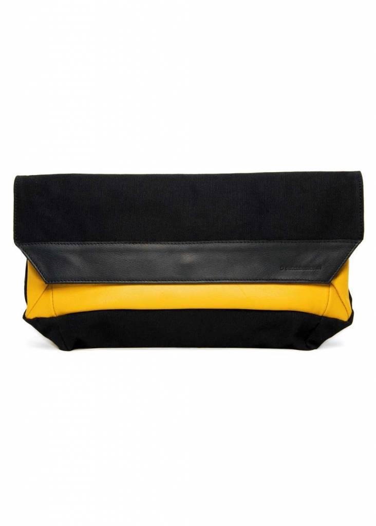 Dutch Basics Folded Envelop Clutch - Yellow