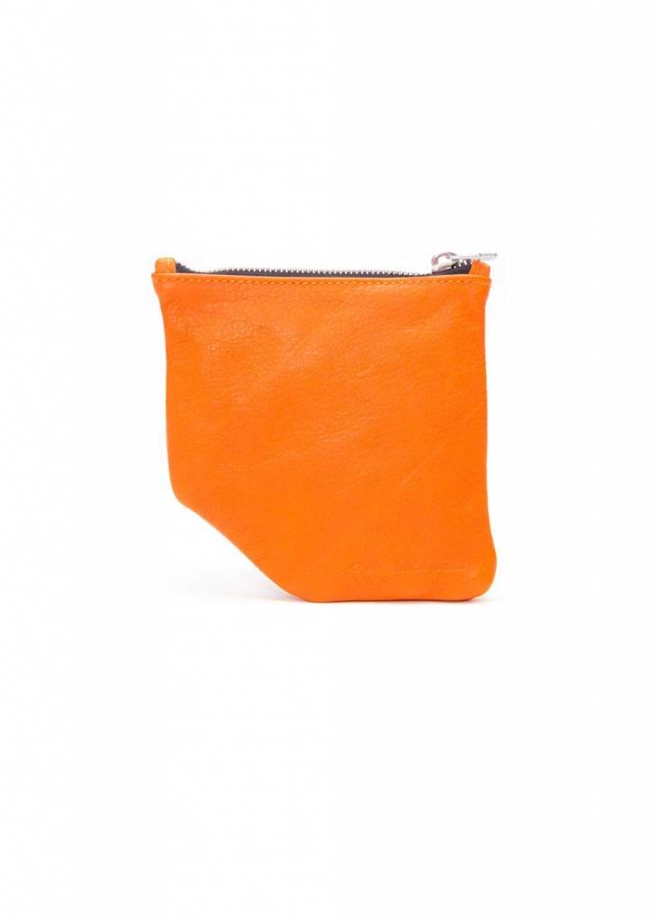Dutch Basics Small Diagonal Wallet - Orange