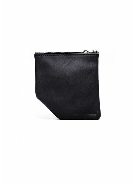 Dutch Basics Small Diagonal Wallet - Black