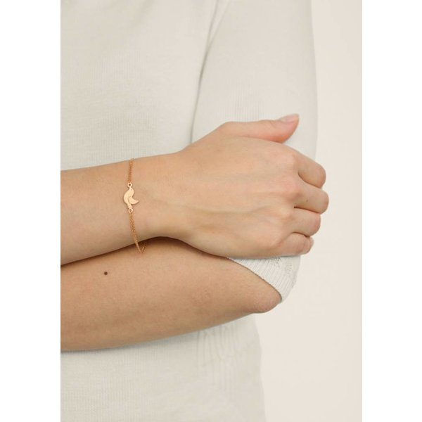 Bird Bracelet - Gold Plated