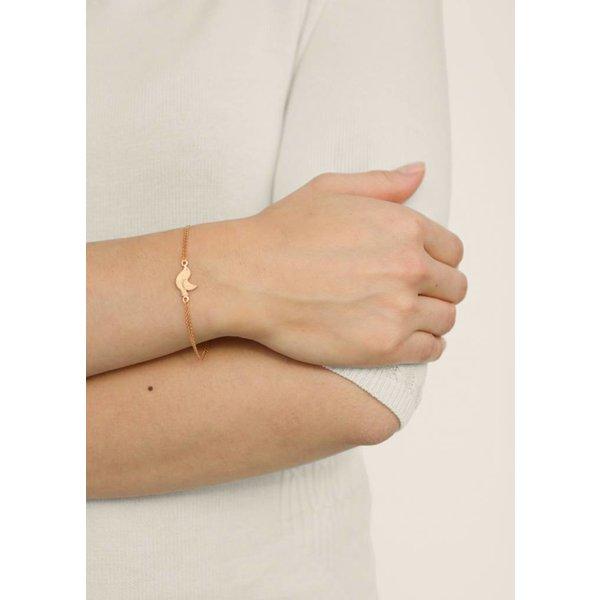 Bird Bracelet - Gold Plated