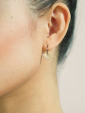 Dutch Basics Bird Earrings - Oxidised and Gold