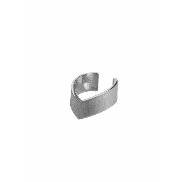 Silver Point Ear Cuff