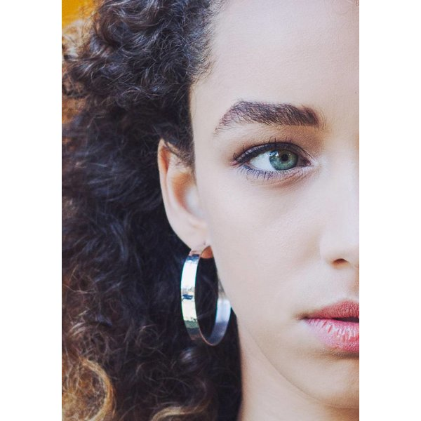 Medium Creole Earrings
