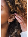 Gold Plated Double Point Ear Cuff