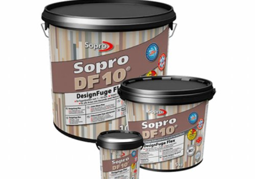 Sopro Voegmortel Sopro DF 10 Flexibel jurabeige nr. 33 5kg